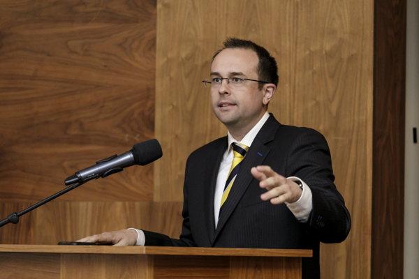 Rastislav Chovanec, state secretary of the Economy Ministry