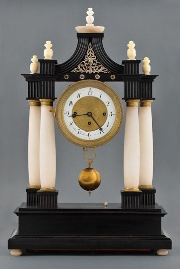 Anton Thalhamer: Table clock, Trnava, 1830 – 1850