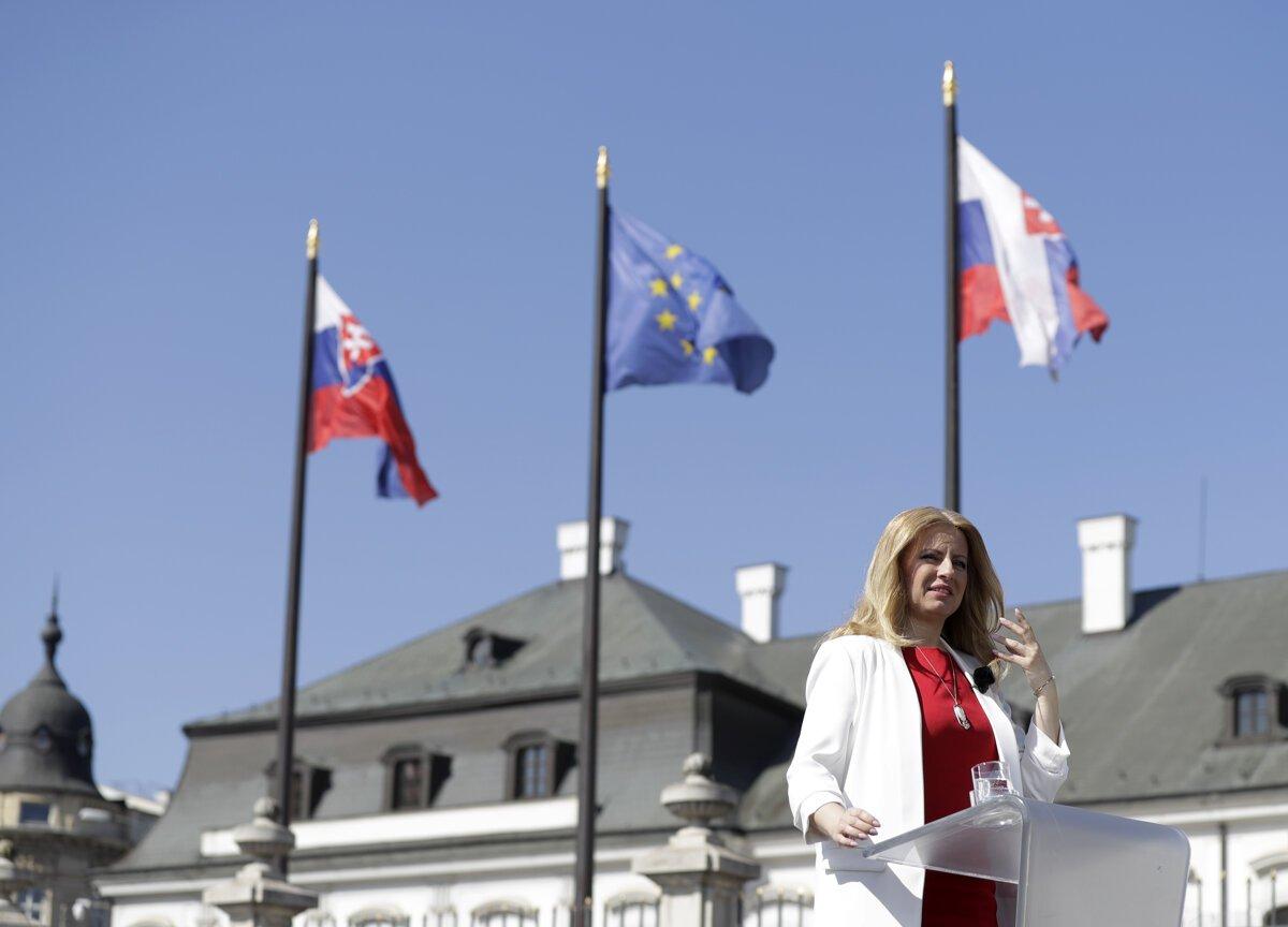 Image result for Zuzana Čaputová government