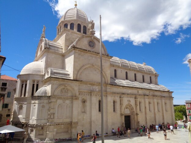 St James Cathedral in Šibenik