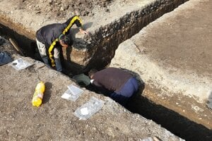 Archaeological research uncovered 17 cremation graves