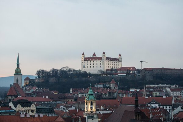 Bratislava castle and surroundings