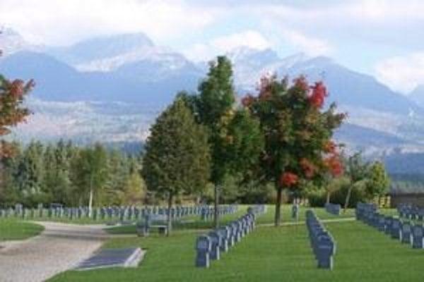 Cemetery in Važec.