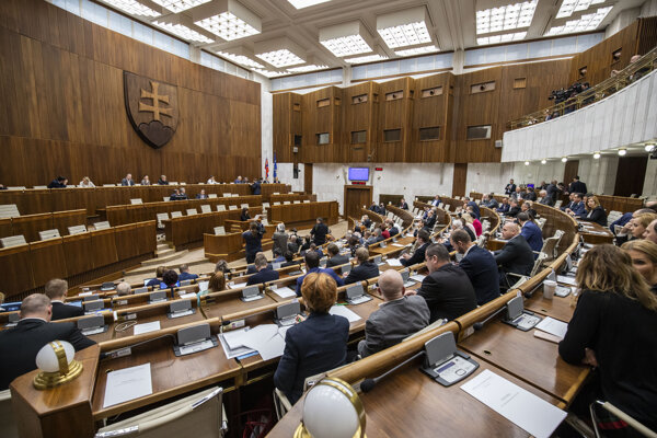 The Slovak parliament, illustrative stock photo