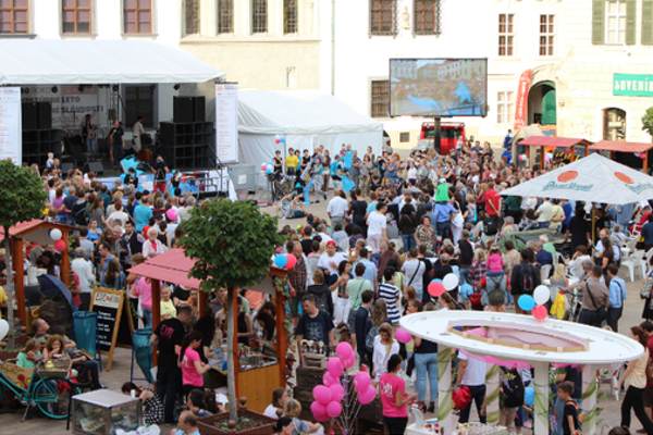 The annual French Day takes place on July 12 on Bratislava's Main Square.