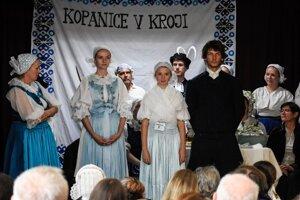 Myjava folk costumes.