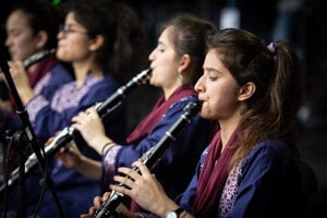 ZOHRA is the first and the only Afghan all-female orchestra.