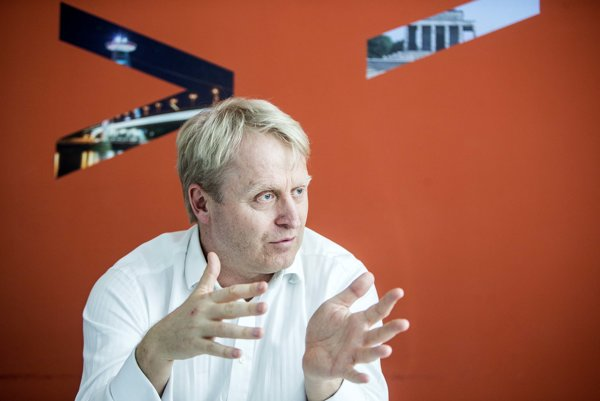 Peter Škodný, BLF president and country managing director of Accenture in Slovakia.