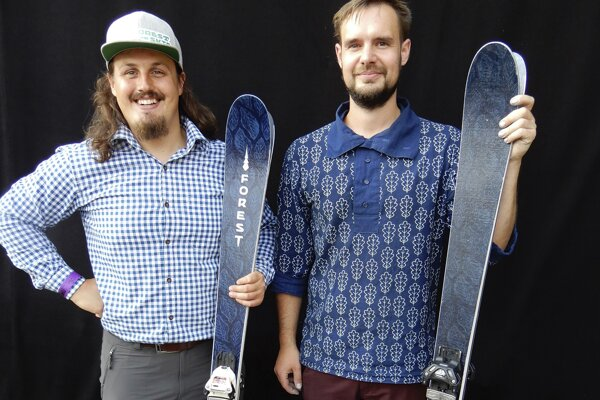 Viktor Devečka and Matej Rabada