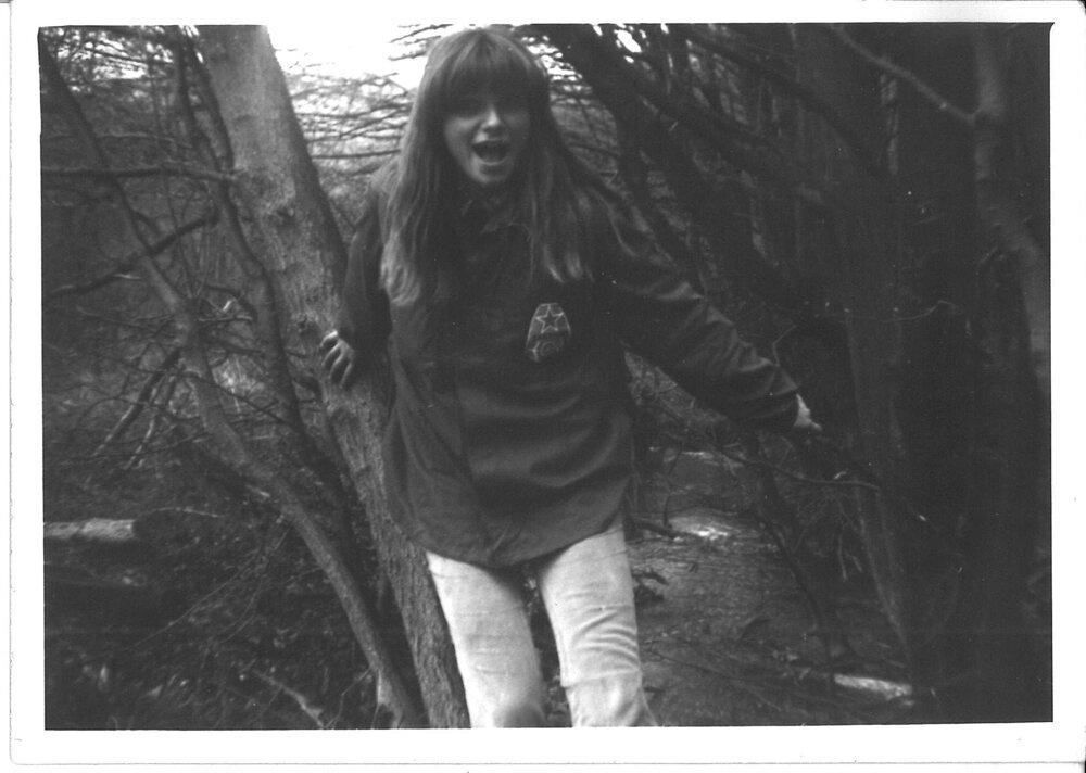 Jana Plulíková was a member of a local hikers' society (1982)
