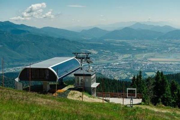 The disputed ski center Martinské hole
