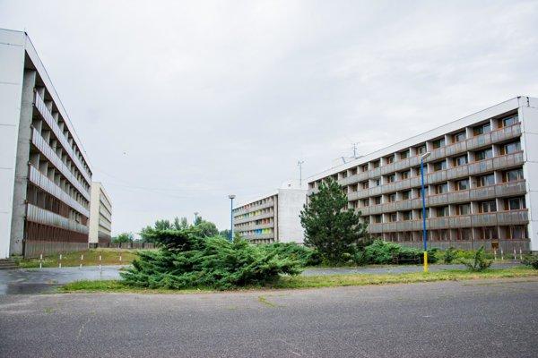 Former refugee camp in Gabčíkovo
