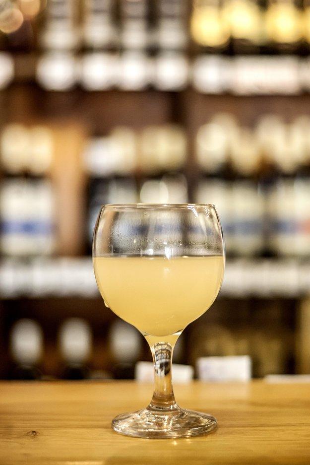 Burčiak, fermenting grape juice, has a distinctive sweet-sour taste and up to 6 percent alcohol.