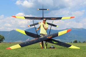Ján Littva wants to organise a world championship in aeromodelling at his private airport.