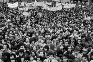 November 27, 1989 in Bratislava