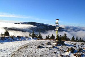 The Minčol peak in the Malá Fatra mountains, central Slovakia.