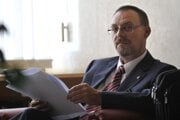 General Prosecutor Dobroslav Trnka, who wants to be re-appointed as the GP, is waiting for a public hearing before a parliamentary committee on June 14, 2011, in Bratislava