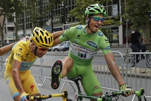 The success of cyclist Peter Sagan has made the sport more popular in Slovakia.