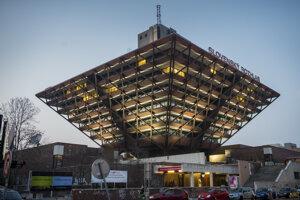 The Slovak Radio building