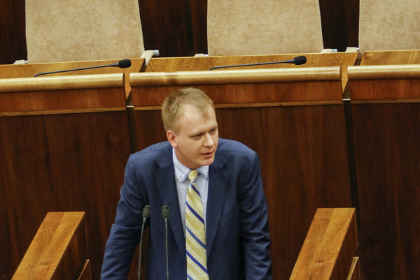 Miroslav Beblavý in parliament