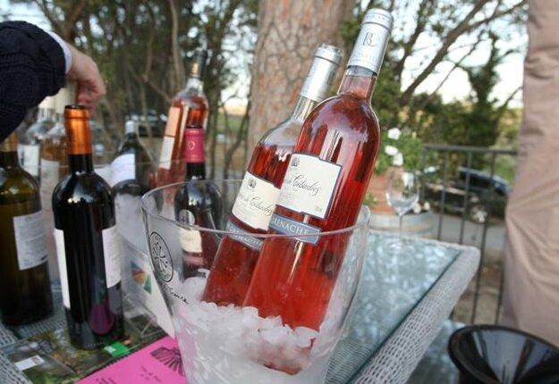 Wine tasting, illustrative stock photo