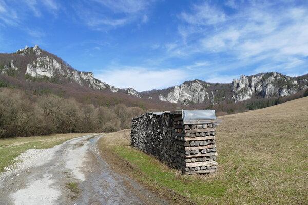 The Súľov Rocks.