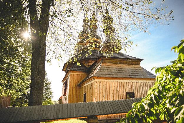 Wooden church in Ladomirová