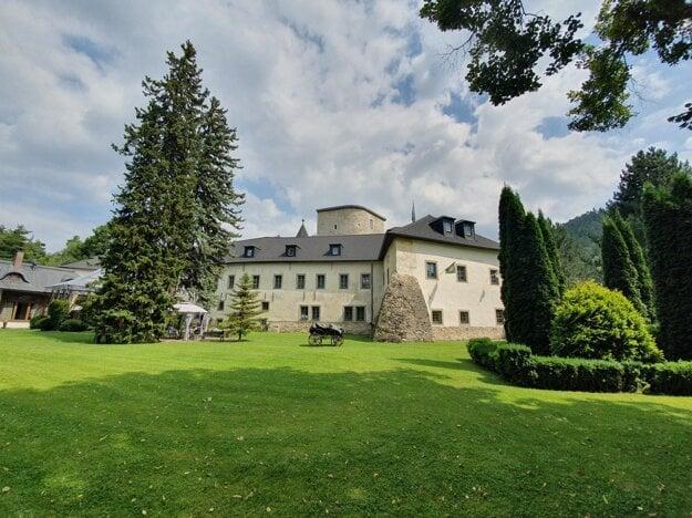 Grand Castle in Liptovský Hradok