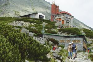 Skalnatá Cabin, High Tatras