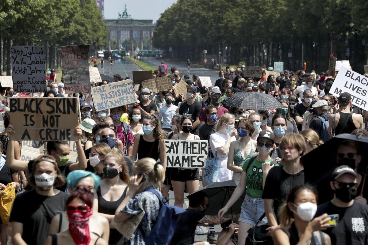 Black Lives Matter protest in Germany