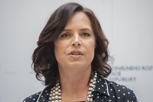 Investments Minister Veronika Remišová
