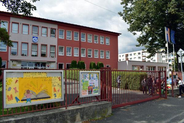 The Komenského 2 Primary School in Svit, eastern Slovakia.