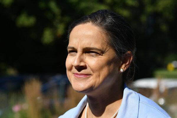 Mária Kolíková, Justice Minister