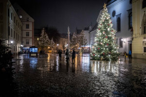 Christmas trees began appearing in the squares during the First Czechoslovak Republic and there is a touching Christmas story behind it.