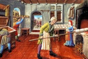 Bakers belonged to the wealthy group of townspeople in Prešporok.