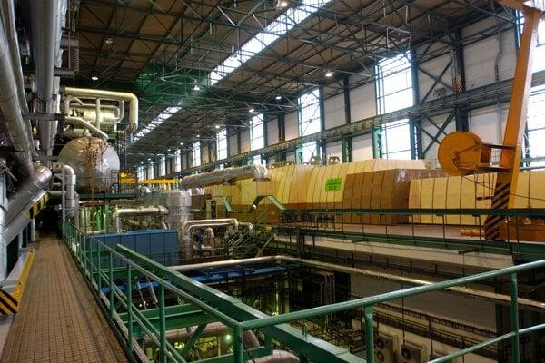 The nuclear power plant V1 in Jaslovské Bohunice.