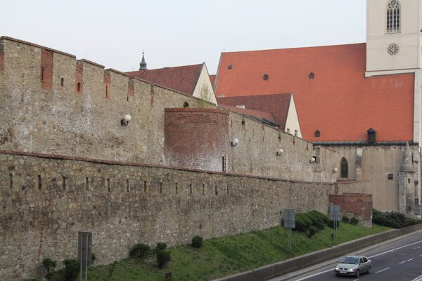 The City Walls in Bratislava