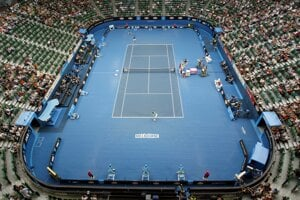 Rod Laver Arena in Melbourne, Australia.
