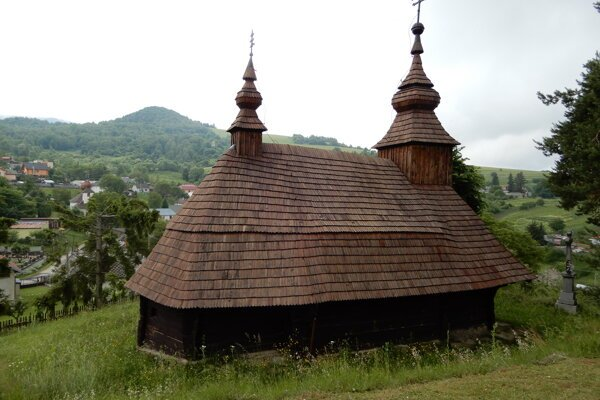 The Greek Catholic wooden church of St. Michael Archangel in Inovce, Sobrance district, eastern Slovakia. Many people from this part of the country left for America in the past.