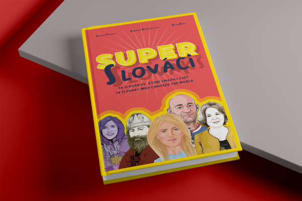 """The """"Super Slovaks"""" book recounts the story of Slovakia through the bios of some of the greatest Slovaks."""