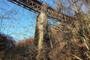 The Devil's Viaduct near Tisovec.