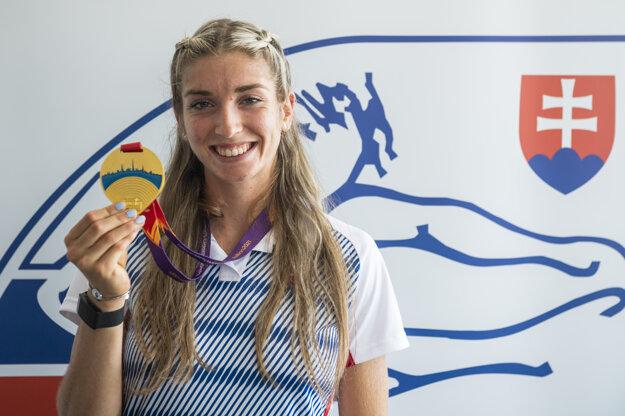 Emma Zapletalová won gold medal at U-23 European championship in Tallin.