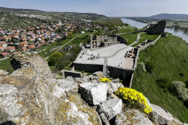 Devín Castle is one of the stops on the Cyril and Methodius European Cultural Route.