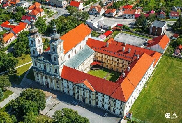 Basilica of Our Lady of Seven Sorrows in Šaštín.