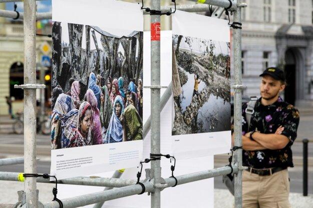 Visitors to Bratislava can see the pictures by Dutch multi-media photojournalist Kadir van Lohuizen.
