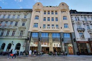 The Art Nouveau building after restoration.