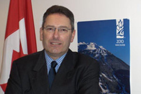 Charge d'affaires of the Canadian Embassy John Broadbent.
