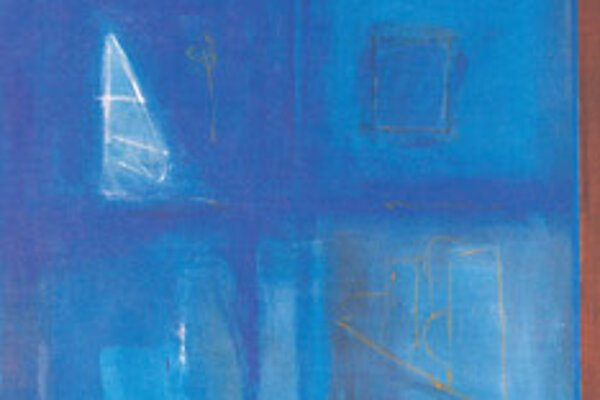 Quatre estances, acryl on canvas, by Ráfols-Casamada.