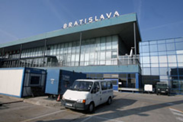 An artist's impression of the planned new terminal at Bratislava airport.