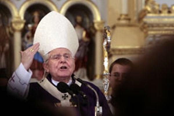 Archbishop Ján Sokol.